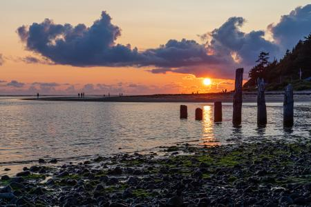 Sunset from Netarts Bay